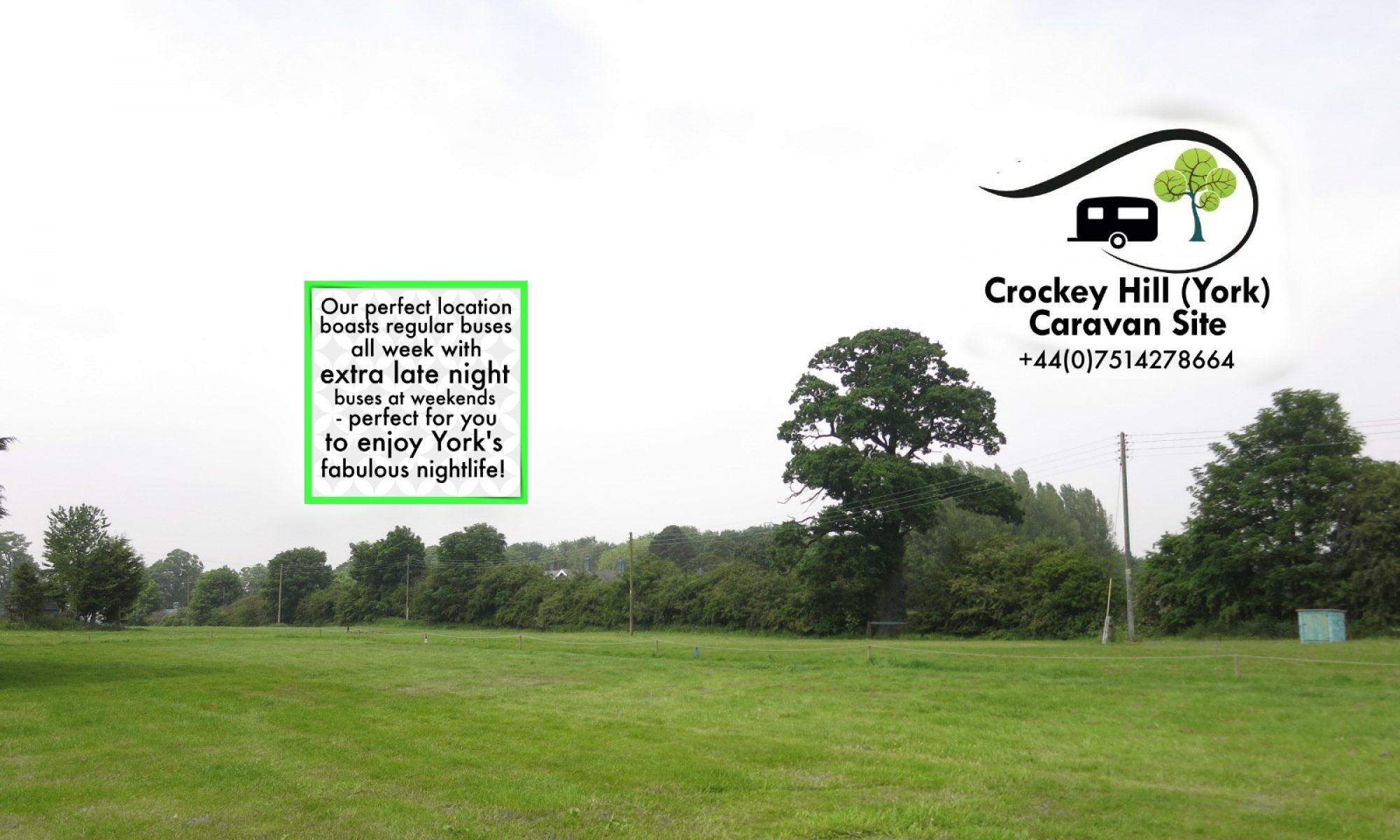 Crockey Hill Caravan Site York